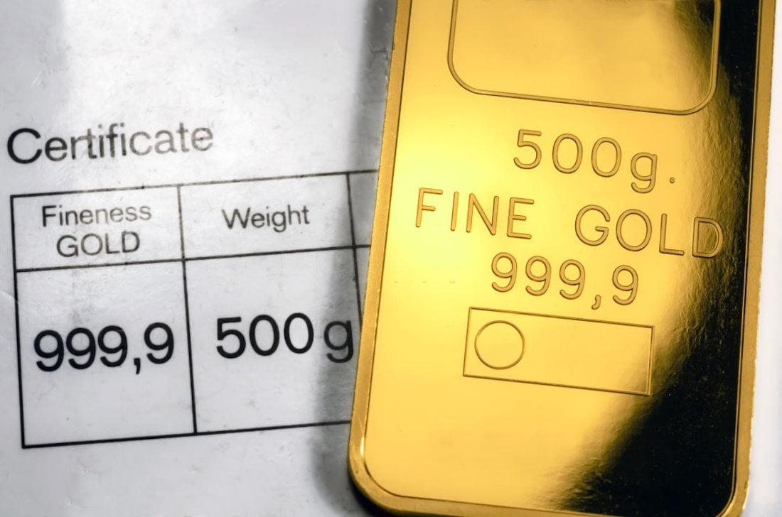 Armazenamento do Ouro e metais preciosos